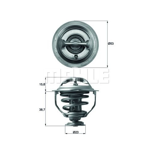 BEHR THERMOT-TRONIK Thermostat, Kühlmittel TX 117 95D