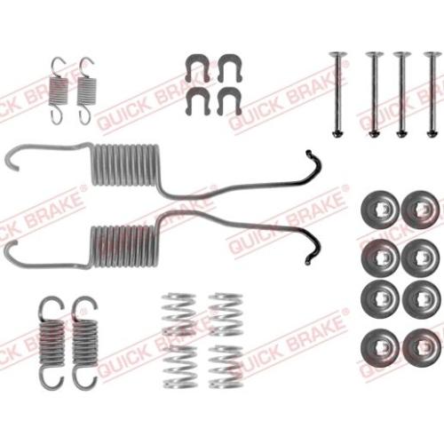 Accessory Kit, brake shoes QUICK BRAKE 105-0684