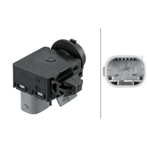 Sensor, Luftgüte HELLA 6PX 012 684-011 AUDI PORSCHE SEAT SKODA VW