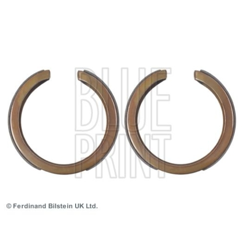 BLUE PRINT Brake Shoe Set, parking brake ADG04129