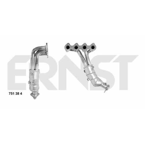 Catalytic Converter ERNST 751384 Set MERCEDES-BENZ
