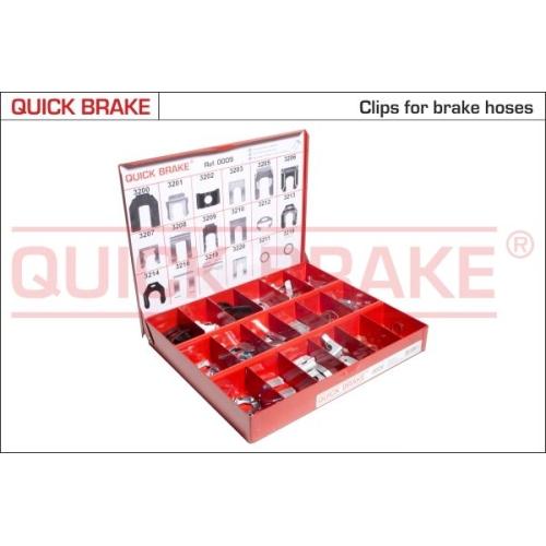 Assortment, fasteners QUICK BRAKE 0009