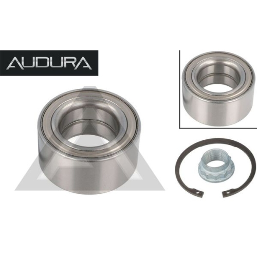 1 wheel bearing set AUDURA suitable for BMW AR11250