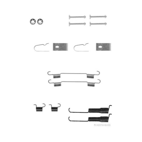 Accessory Kit, brake shoes HERTH+BUSS JAKOPARTS J3568002