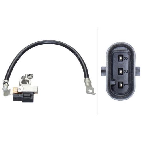Sensor, Batteriemanagement HELLA 6PK 010 562-931 BMW
