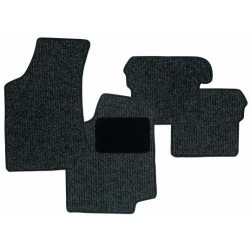 SCHOENEK 2.63474.4 Floor mat set Classic, textile, 4 pieces for VW Tiguan