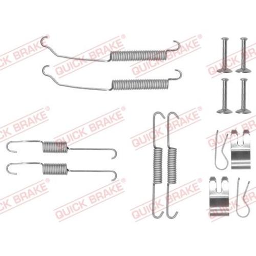 Accessory Kit, brake shoes QUICK BRAKE 105-0882