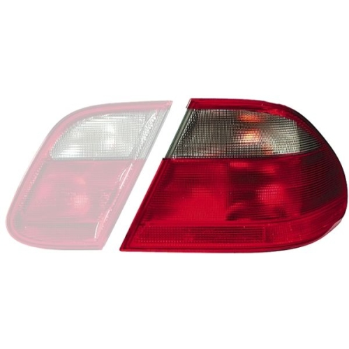 Combination Rearlight HELLA 9EL 147 845-021 MERCEDES-BENZ