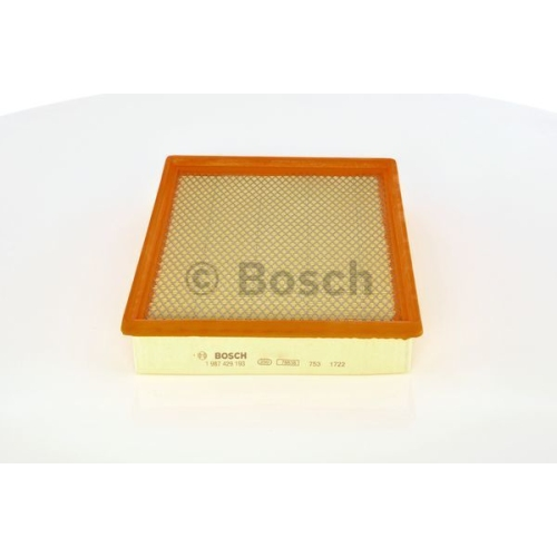 Luftfilter BOSCH 1 987 429 193 GMC OPEL SAAB VAUXHALL CHEVROLET