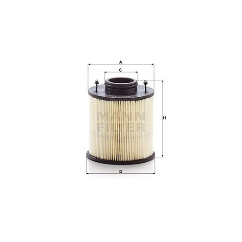 Harnstofffilter MANN-FILTER U 620/4 y KIT