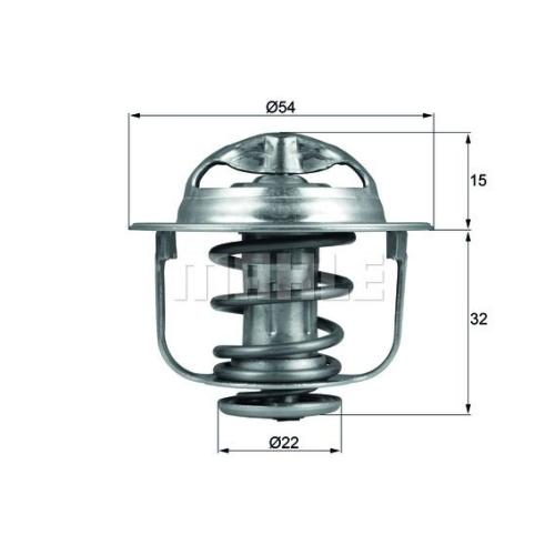 BEHR THERMOT-TRONIK Thermostat, Kühlmittel TX 120 89D