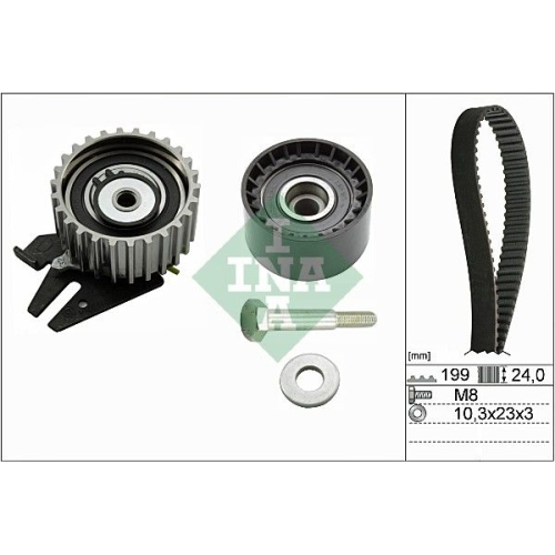 Timing Belt Set INA 530 0628 10 ALFA ROMEO FIAT
