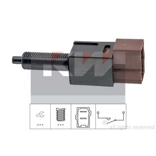 Brake Light Switch KW 510 265 Made in Italy - OE Equivalent NISSAN RENAULT