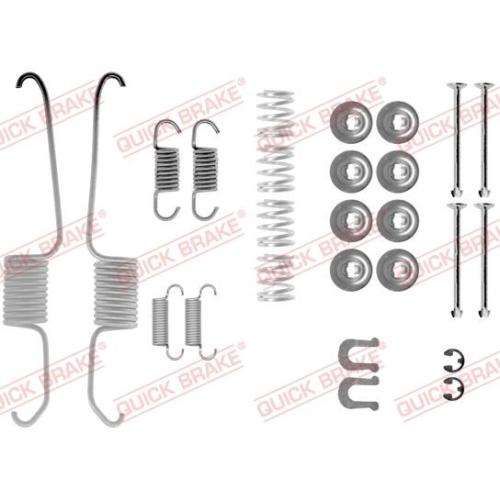 Accessory Kit, brake shoes QUICK BRAKE 105-0003