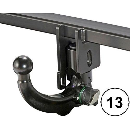 Trailer Hitch ACPS-ORIS 039-232 Towbar-Set (incl. 13-pole wiring kit)
