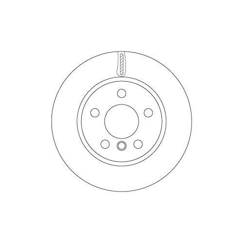 Brake Disc TRW DF6799 BMW MINI