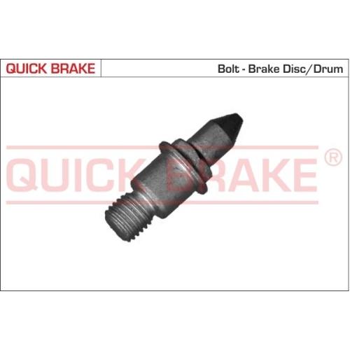 Schraube, Bremssattel QUICK BRAKE 11677 FIAT PEUGEOT