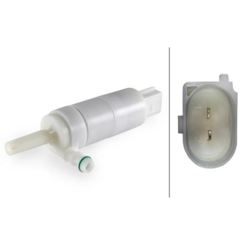 Water Pump, headlight cleaning HELLA 8TW 007 540-141 AUDI MERCEDES-BENZ VW