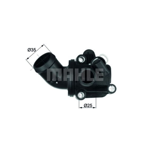 BEHR THERMOT-TRONIK Thermostat, coolant TH 3 87