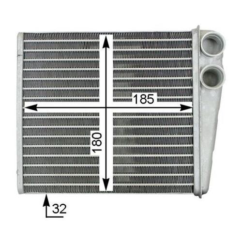 Wärmetauscher, Innenraumheizung MAHLE AH 208 000S AUDI VAG VW (FAW) VW (SVW)