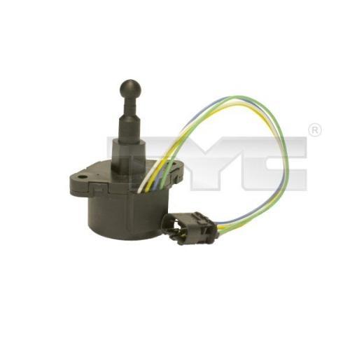 Control, headlight range adjustment TYC 20-0011-MA-1 BMW