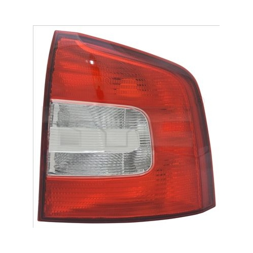 Combination Rearlight TYC 11-12260-01-2 SKODA