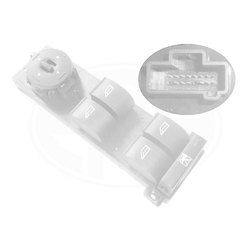 Switch, window regulator ERA 662400 FORD