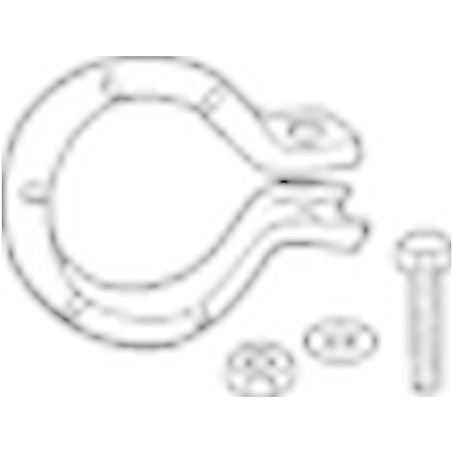 BOSAL Holder, exhaust system 250-003