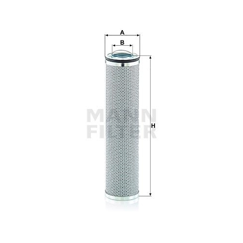 Filter, Arbeitshydraulik MANN-FILTER HD 8003 VOLVO