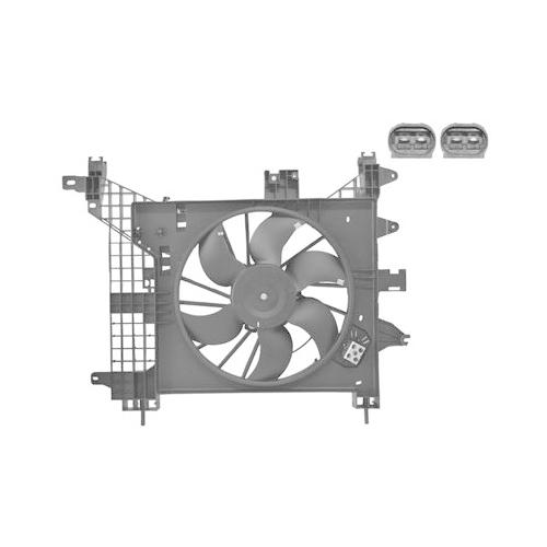 Fan, radiator VAN WEZEL 1555748 DACIA