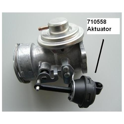 Vacuum Control Valve, EGR BorgWarner (Wahler) 710558 VW