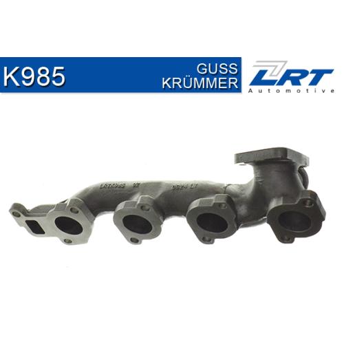 Krümmer, Abgasanlage LRT K985 MERCEDES-BENZ