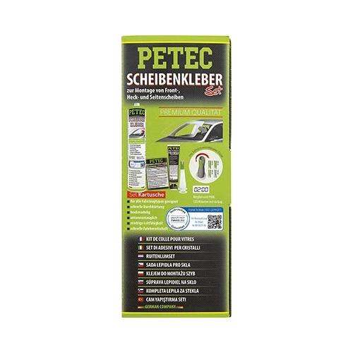 Scheibenklebstoff PETEC 83333 SCHEIBENKLEBER-SET, KARTUSCHE