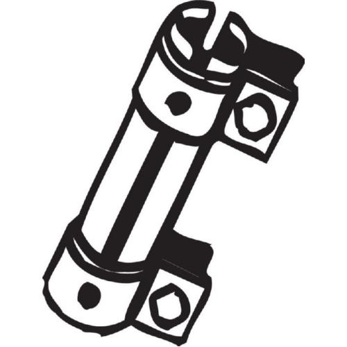 BOSAL Rohrverbinder, Abgasanlage 265-459