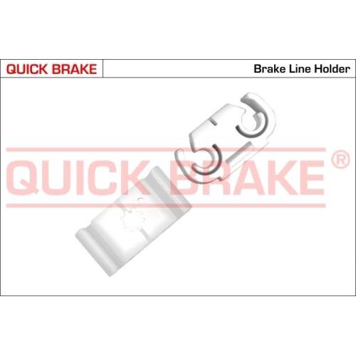 Holder, brake lines QUICK BRAKE W VW