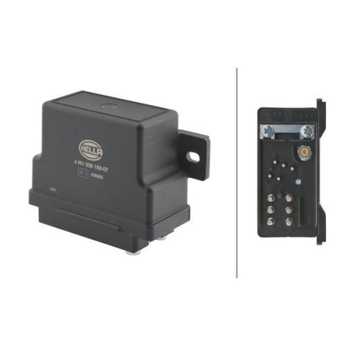 Control Unit, glow plug system HELLA 4RV 008 188-071 MERCEDES-BENZ EVOBUS