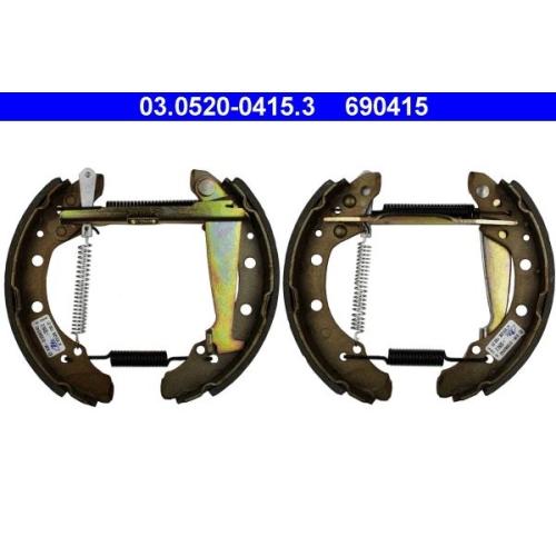 Bremsbackensatz ATE 03.0520-0415.3 Original ATE TopKit