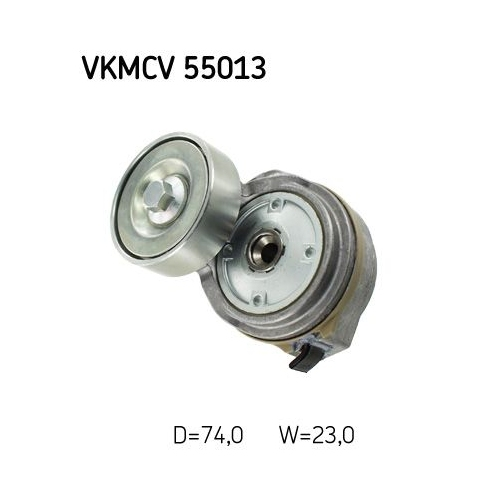 Spannrolle, Keilrippenriemen SKF VKMCV 55013 MAN