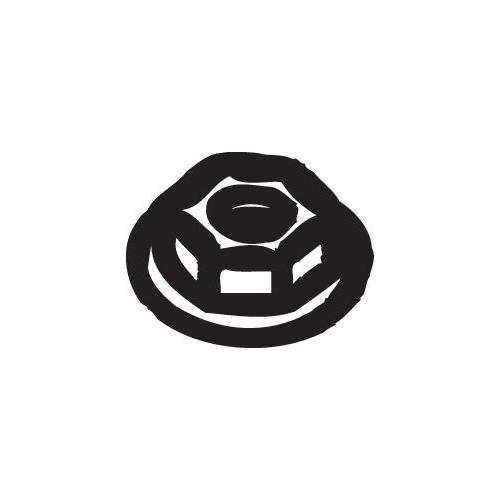 Mutter, Abgaskrümmer BOSAL 258-036 ALFA ROMEO CITROËN FIAT PEUGEOT RENAULT ROVER