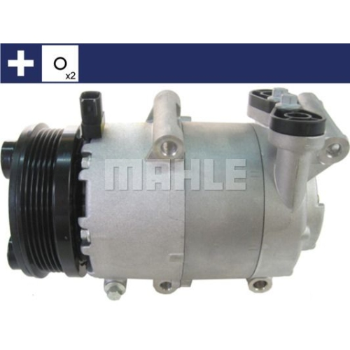 Compressor, air conditioning MAHLE ACP 864 000S FORD VOLVO