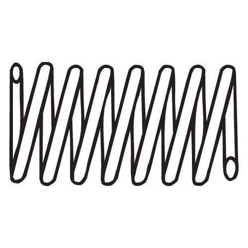 Feder, Abgasrohr BOSAL 251-903 CITROËN FIAT MERCEDES-BENZ SEAT