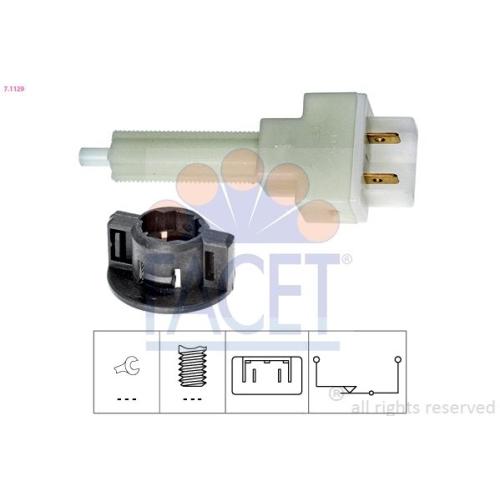 FACET Brake Light Switch 7.1129