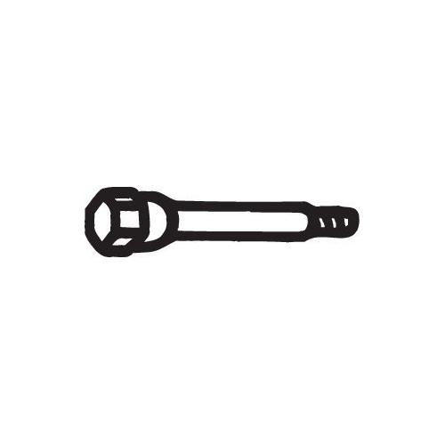 Schraube, Abgasanlage BOSAL 258-781 CITROËN