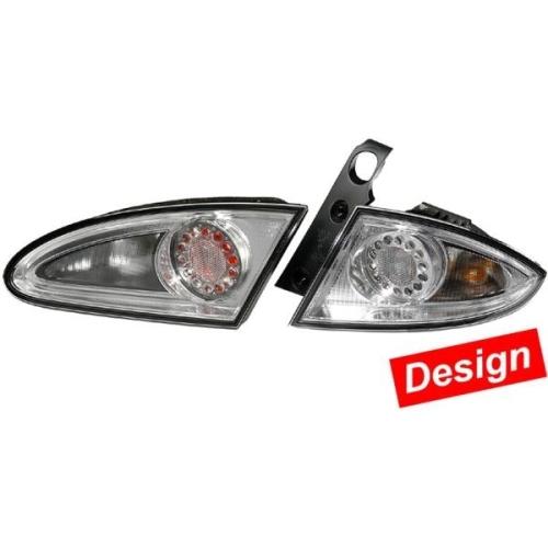 Combination Rearlight Set HELLA 2SK 982 000-821 VW