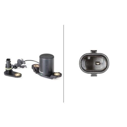Sensor, Motorölstand HELLA 6PR 008 891-011 MERCEDES-BENZ