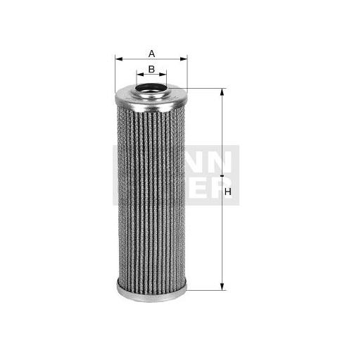 MANN-FILTER Hydraulic Filter, steering system HD 56/2