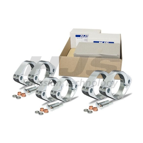 Flange Set, exhaust pipe HJS 82 00 0172