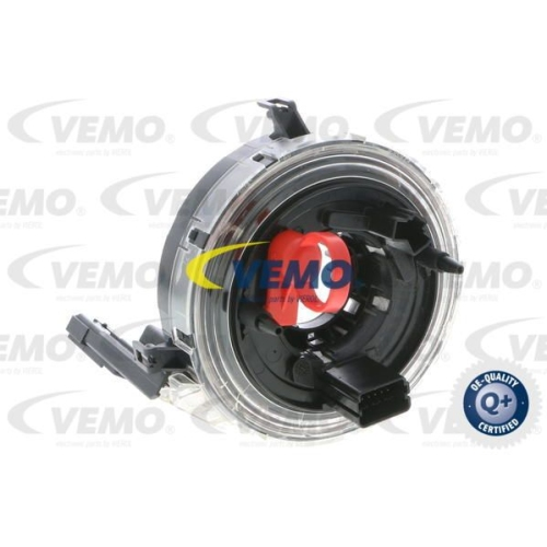 Clockspring, airbag VEMO V10-72-1299 Q+, original equipment manufacturer quality
