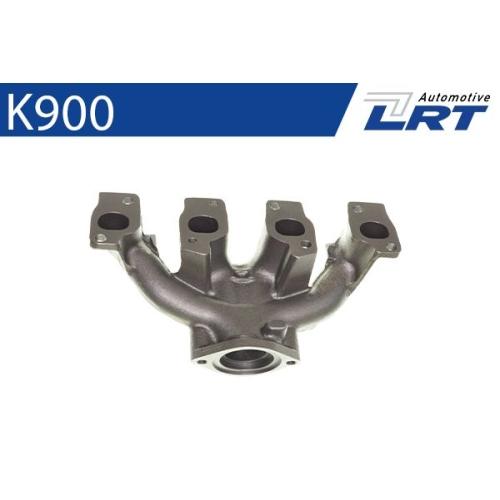 LRT Krümmer, Abgasanlage K900