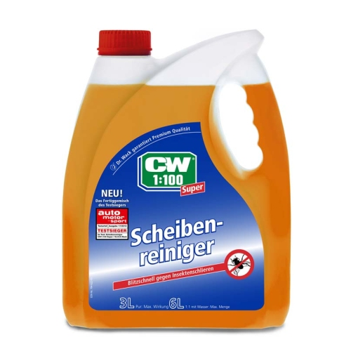 WINDOW CLEANER Dr. Wack CW1: 100 SUPER 3 liters strong 1741